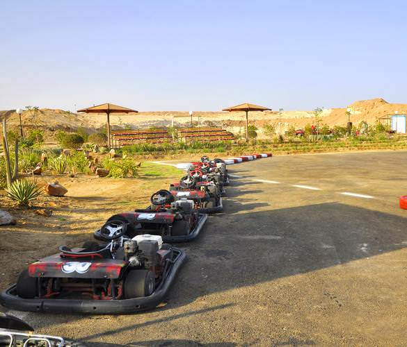 Race against the clock ..Race against your friends ..<br/>Port Ghalib Track  550m <br/>Speed up to 80km/h<br/>8 H.P Engine <br/>Daily Tournaments <br/>Special Cars for Kids