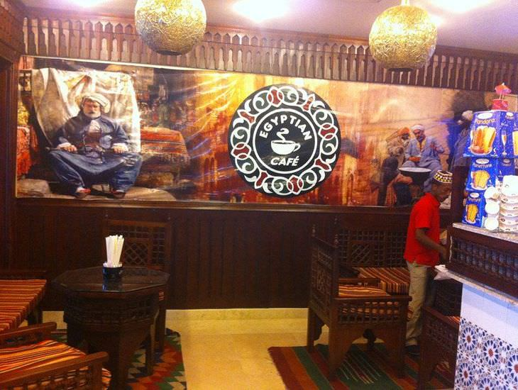 Egyptian cafe